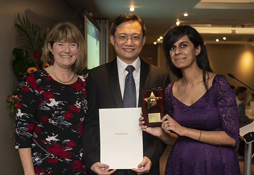 Dr Ong and Dr Shah receive award